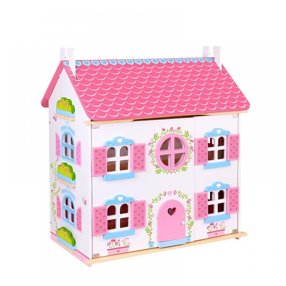 Drvena kuća za lutke