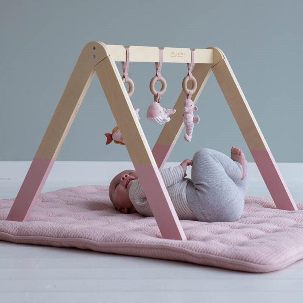 Baby Gym - Ocean Pink