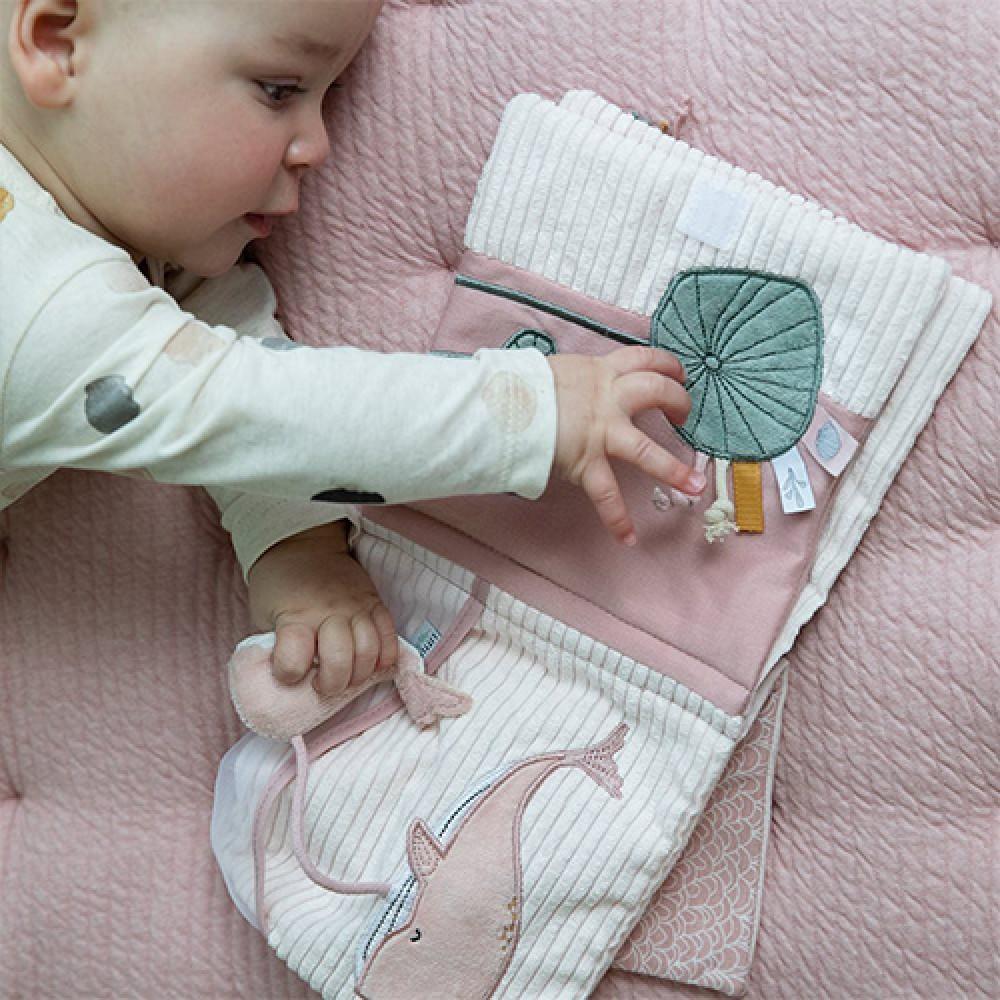 Montesori knjiga za bebe - Roze