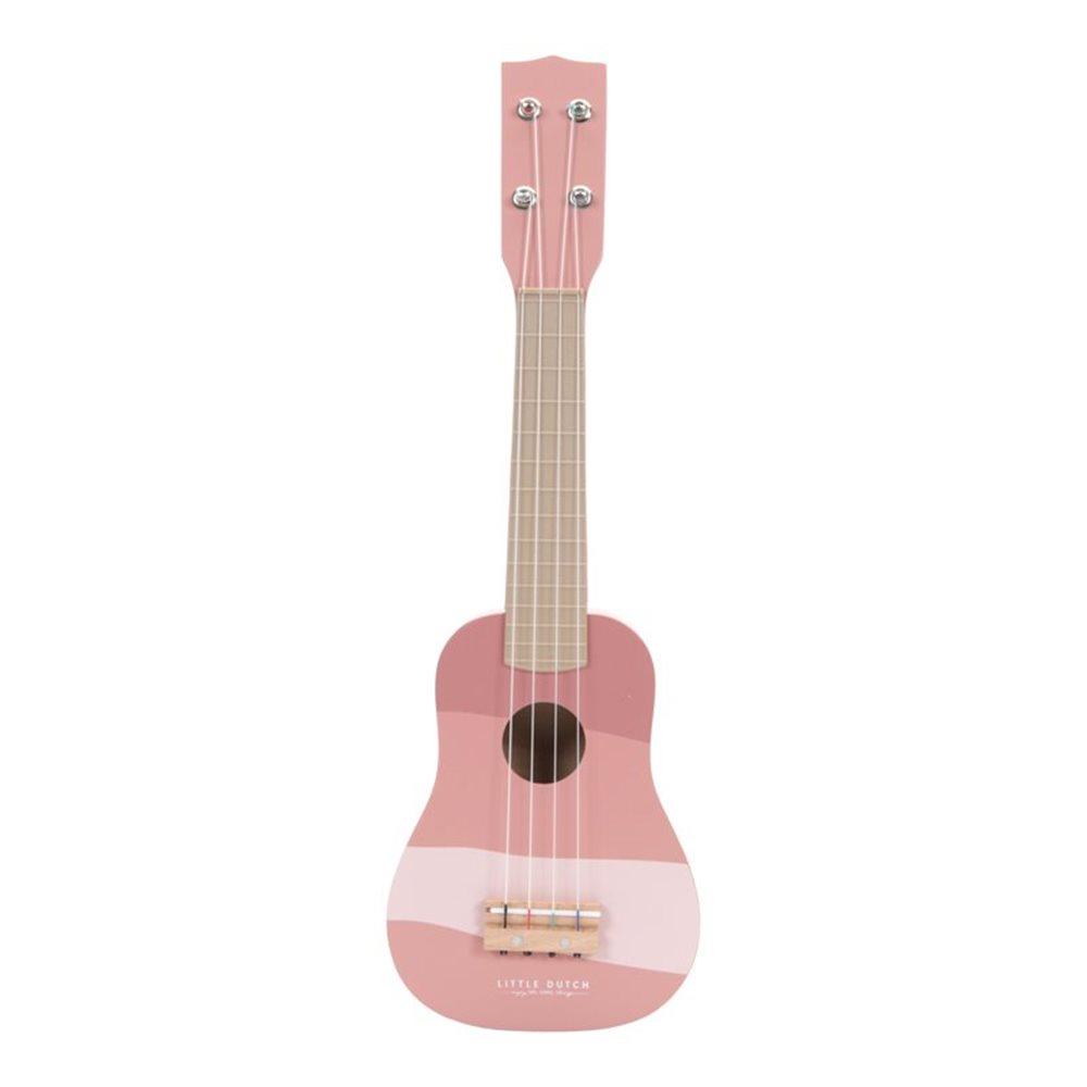 Drvena gitara - Ružičasta