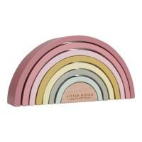 Montesori drvena duga - Pink